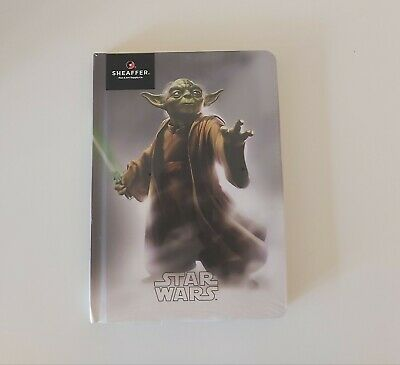 Sheaffer Disney Star Wars Yoda Hardcover Ruled Notebook-New