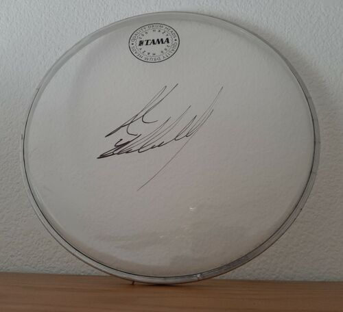 "10"" Tama Drumhead - Signed by Drummer, John Blackwell Jr!"