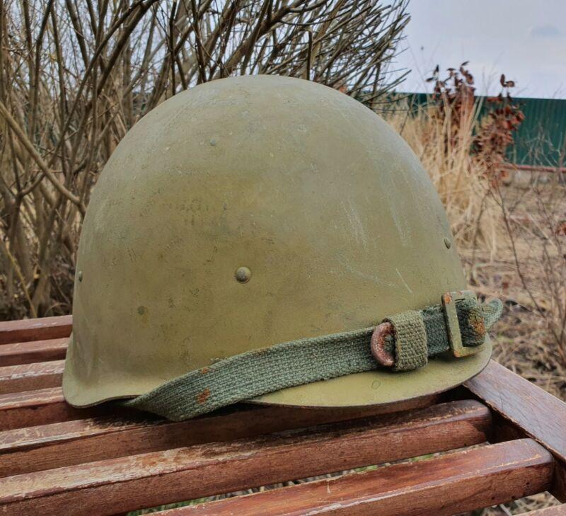 Original Military Helmet SSh 40 Steel WW2 Soviet Army RKKA WWII Russian N 2-416
