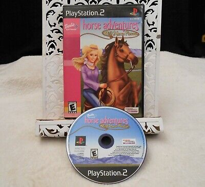 Barbie Horse Adventures Wild Rescue PlayStation 2 PS2 FAST FREE SHIPPING