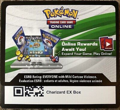 Pokemon Charizard EX Fire Blast Booster Box Code Card