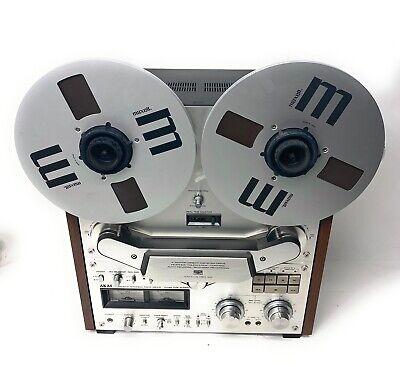 Akai GX-635D 4 Track Reel to Reel Tape Deck - Asis Parts Repair Read Description
