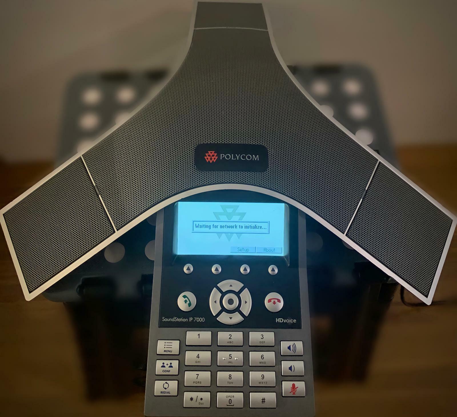 POLYCOM SOUNDSTATION IP 7000 ZUBEH R GEBRAUCHT - 55,00€