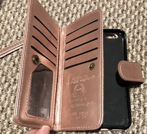 iPhone 6/6s wallet and case