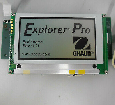 Ohaus 1110840701 Lcd Module For Explorer Pro 4100g
