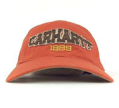 Carhartt 1889 Front Patch Logo Baseball Cap Adjustable Adult Size Cotton Carhartt Logo-patch