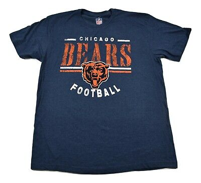NFL Team Apparel Mens Chicago Bears Football Shirt New L, XL, 2XL Football Nfl Apparel