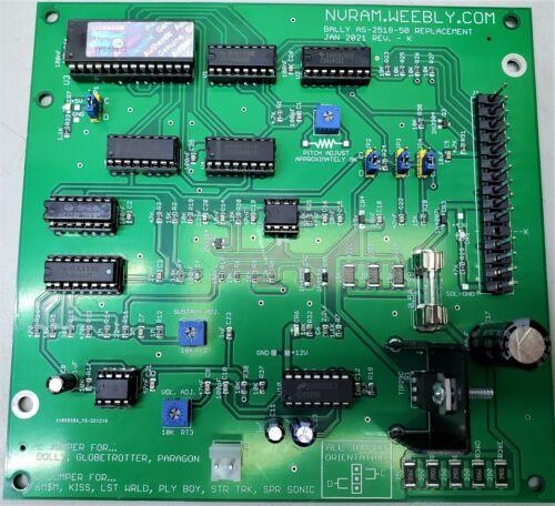 NEW Bally Sound Board AS-2518-32 / AS-2518-50