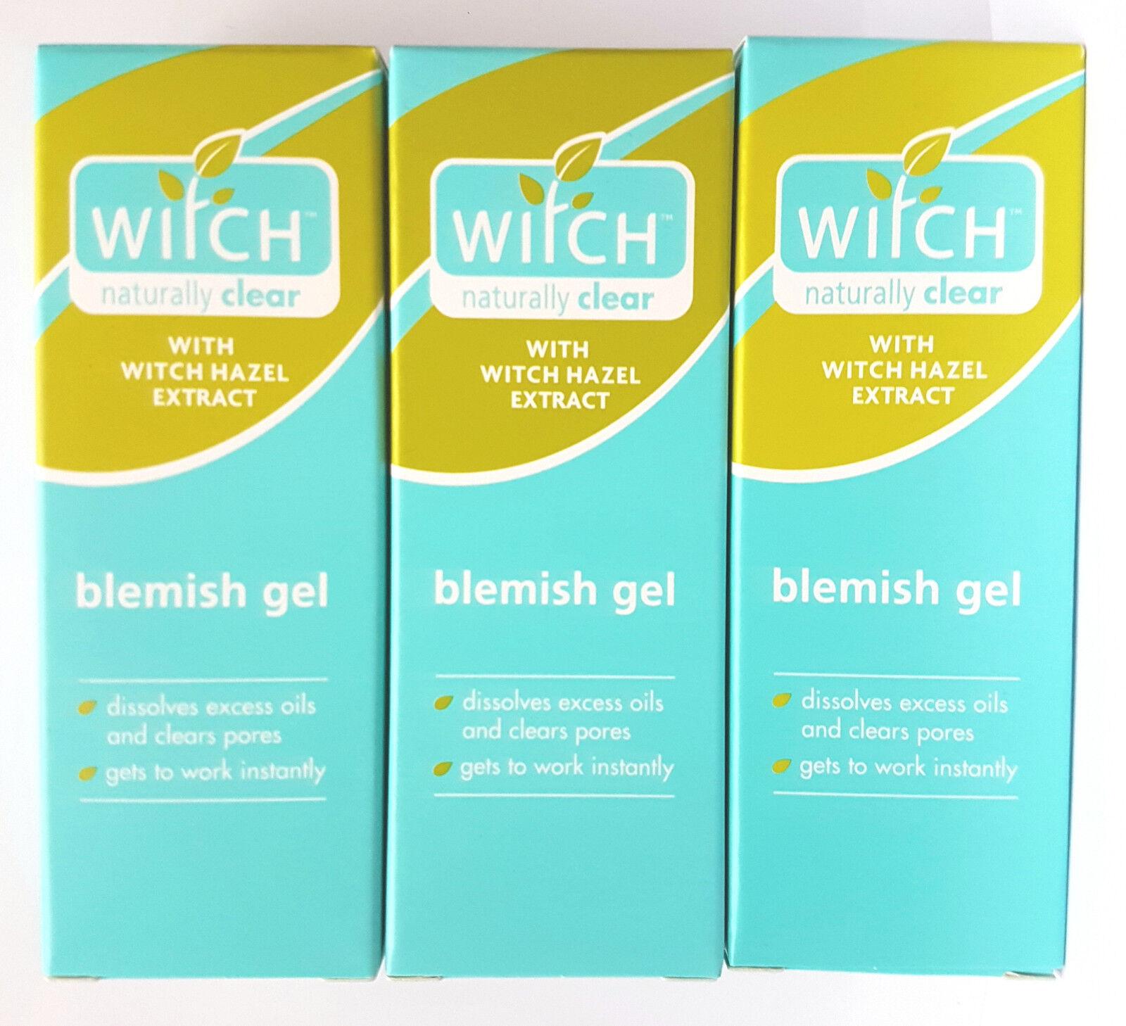3 x blemish gel hazel oily skin