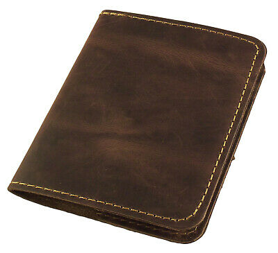 Pocket Notebook Leather Refillable Mini Composition Book Cover Notepad Handmade
