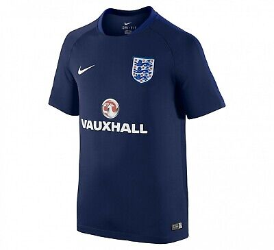 England Flash SS training shirt - boy's XL (age 13-15, 158-170cm height)