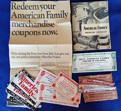 Vintage American Family Detergent Catalog, Coupons & Newspaper Clipping