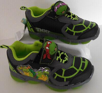 Ninja Turtles Shoes (Ninja Turtles Toddler Boys Light Up Shoes, You Choose Size 8,9,10,12*)