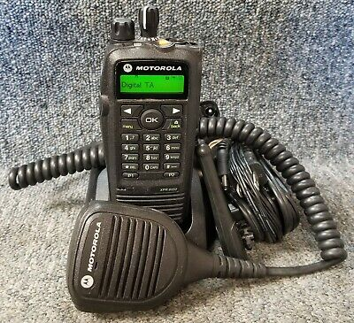 Motorola Xpr6550 Uhf Digital Dmr Mototrbo Radio 403-470 W Mic Buy 1 To 7 Units