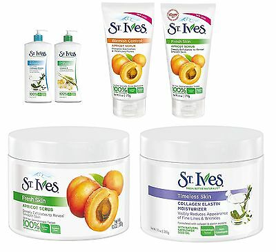 St Ives, Skin Care (St Ives Scrub Lotion Moisturiser Dermatologist Tested Skin Care Face Body )
