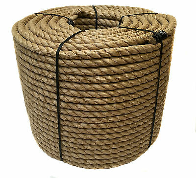 20mm Synthetic Manila x 35 Metres, Manila For Decking, Garden & Boating, Rope