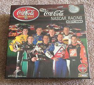 Sealed Coca Cola NASCAR racing board game