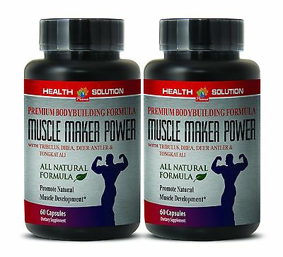 Muscle Maker Power  Gym Supplement   Premium Bodybuilding Formula 2 Bottles