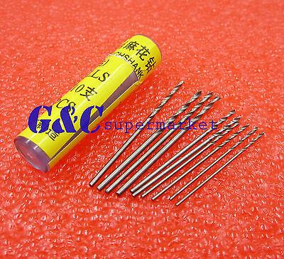 10pcs Mini PCB Drill 2X0.7mm 2X0.8mm 2X1.0mm 2X1.2mm 2X1.4mm Press Drilling Bits
