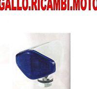 Fanalino/frecce Moto/scooter Cromato Lente Blu -  - ebay.it