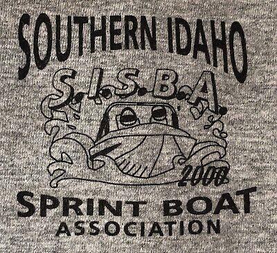 (Southern Idaho Sprint Boat Association Racing Tee Men's T-shirt Big XXL)