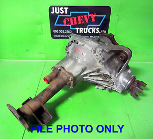 1991 chevy k1500 front differential
