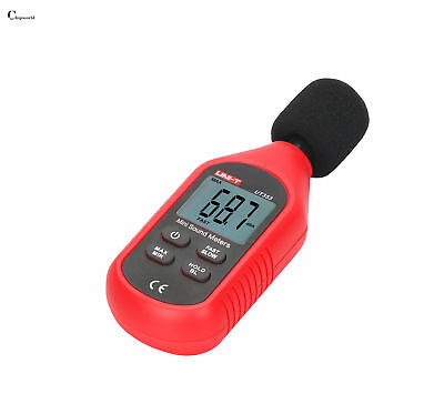 Mini Digital Sound Level Meter Uni-t Ut353 Noise Decibel Tester 30-130db Measure