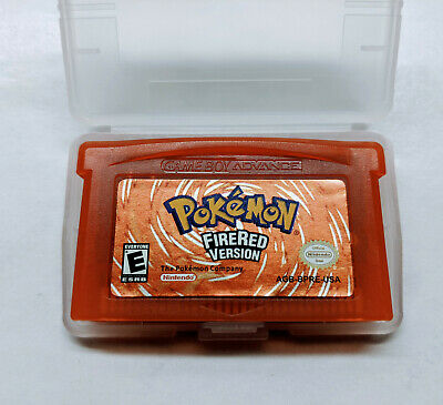 Pokemon Fire Red Version Game Boy Advance GBA