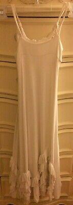 Pixie Girl Clothing (PIXIE GIRL BY VICKI SIGG LITTLE GIRLS SIZE 7 GORGEOUS WHITE FULL BLOOM TWIRL)