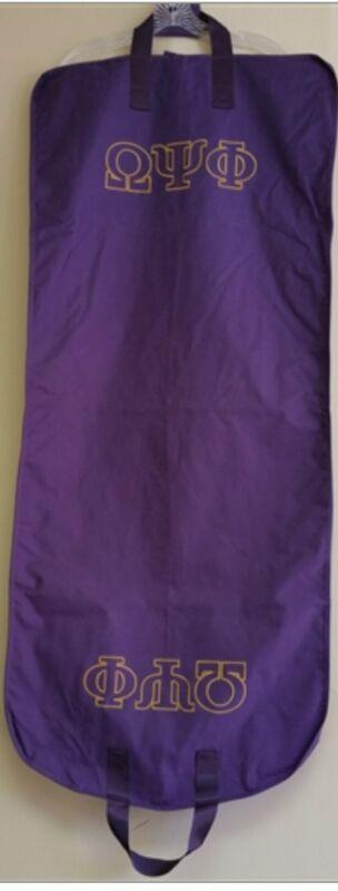 Omega Psi Phi - Garment Bag