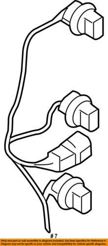 SUBARU OEM Forester Taillight Tail Light Lamp Rear-Socket