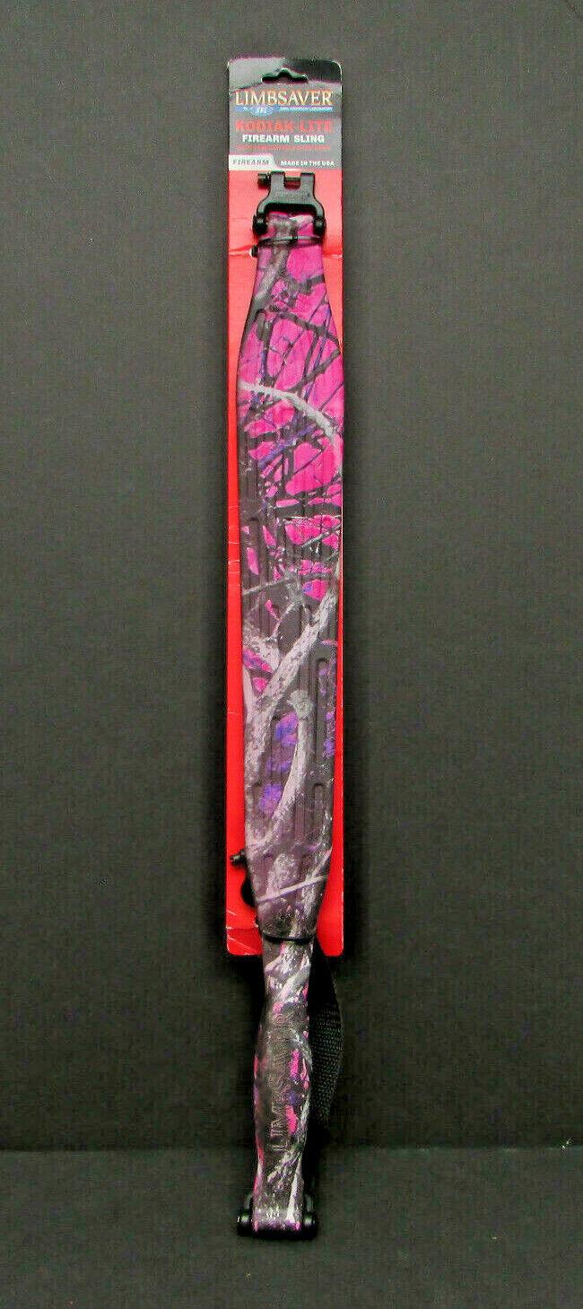 Genuine Limbsaver Kodiak-Lite Sling In Pink Camo Shelf Worn New - $27.95