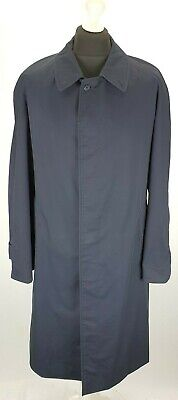 BURBERRY TRENCH COAT SINGLE BREASTED MEN SIZE 50 TRENCH RAINCOAT