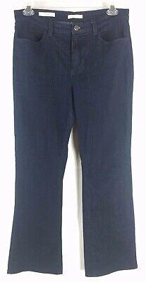 ANTHROPOLOGIE SILENCE + NOISE High Rise Flare Dark Wash Denim Jeans (Size 32)