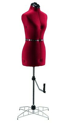 Singer Adjustable Dress Form Sized Largeextra Large - Red