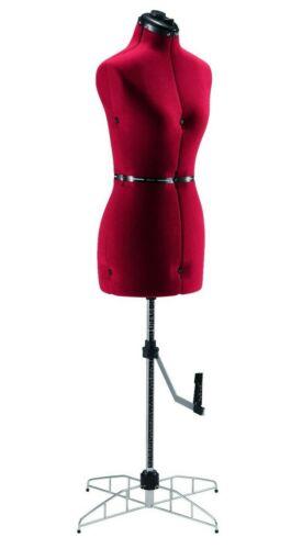 Singer Adjustable Dress Form Sized Large/Extra Large - Red