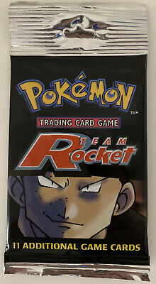 Team Rocket Booster Pack - Unlimited - New / Sealed - Pokemon