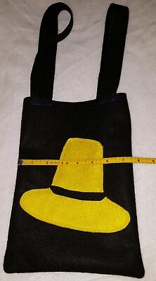 Tote Candy Bag Man in the yellow hat Curious George  Felt Bag Bolsa niños kids