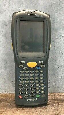 Symbol Pdt8100-t5ba4000 Mobile Handheld Computer Barcode Scanner Untested