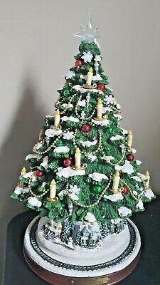 The Heart of Christmas Tree Thomas Kinkade Bradford Exchange D8318. No Train Set