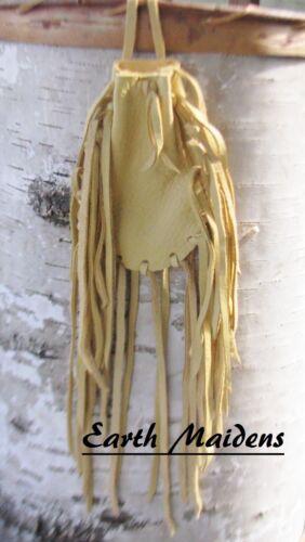 Native American Palomino Medicine Bag Cherokee made William Lattie Cert of Auth