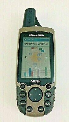 Garmin GPSmap 60CSx Handheld GPS Geocaching Hunting Hiking