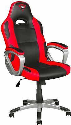 Trust Sedia Gaming Ergonomica Altezza regolabile 360° Nero / Rosso GXT 705 RYON