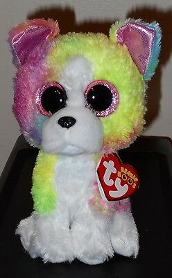 "Ty Beanie Boos - ISLA the 6"" Claires Exclusive Bulldog / Dog ~ 2017 BRAND NEW"