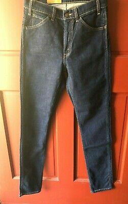 NWT Levi's Strauss Vintage Clothing Women's Dark Wash Jeans 606 Waist 28