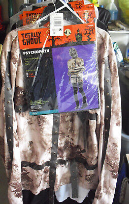 New Teen 10-14 Age XL Halloween Costume Totally Ghoul Psychopath - Psychopath Halloween Costume
