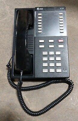 Att Lucent Avaya 8110 Single Line Black Analog Proprietary Business Desk Phone