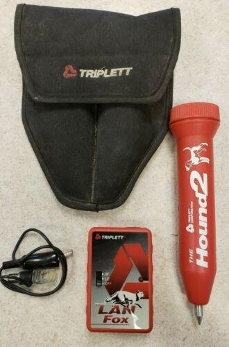 Triplett Lan Fox and Hound 2 Probe tone generator electric trace FREE SHIPPING