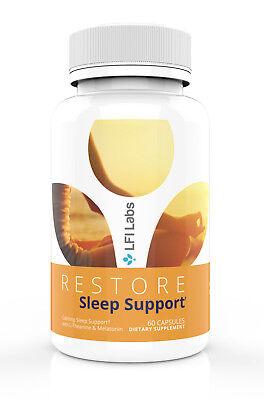 Sleep Better! Sleep Aid Supplement – Natural Melatonin pills with L-Theanine