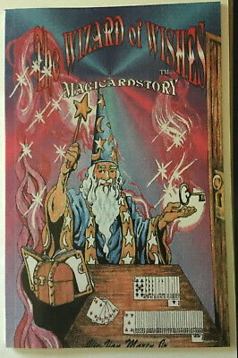 MAGICARDSTORY™ THE WIZARD of WISHES SC ****** 53 CARDS APPEAR AS YOU SPEAK!